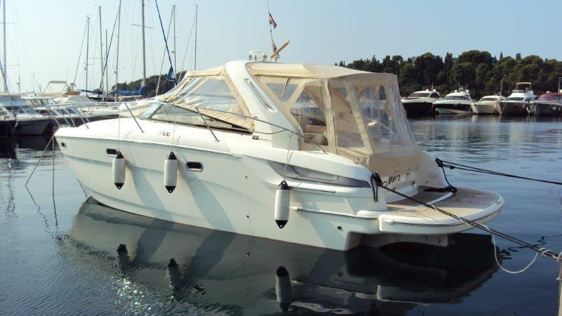 Bavaria 34 sport one of bavaria motor yacht in pula for Motor yacht charter croatia