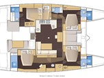 Lagoon 52 - 5 cabins