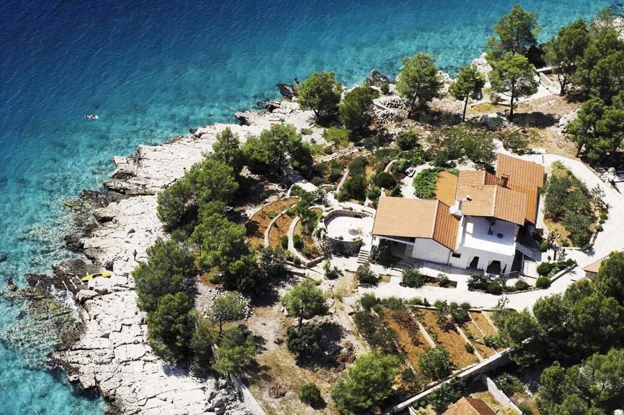 Luxury and peaceful villa on the Dalmatian coast