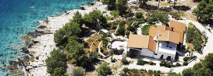 Luxury and peaceful villa on the Dalmatian coast