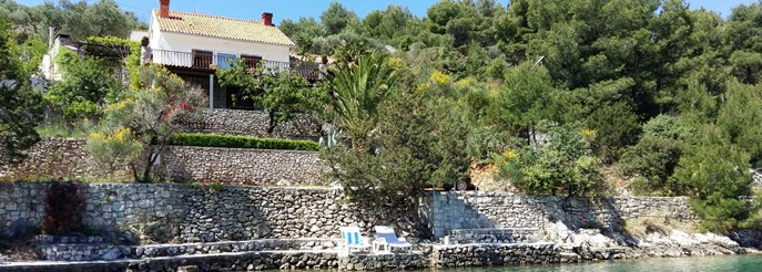 Charming villa with nice seaview Bobovisca
