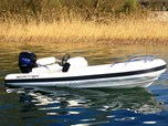 Inflatable boatScanner 420 Outboard for sale
